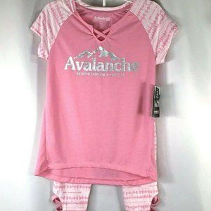 Avalanche Outdoor Inspired Apparel~2 Piece set